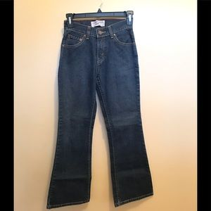 Levi's girls size 12 bootcut jeans